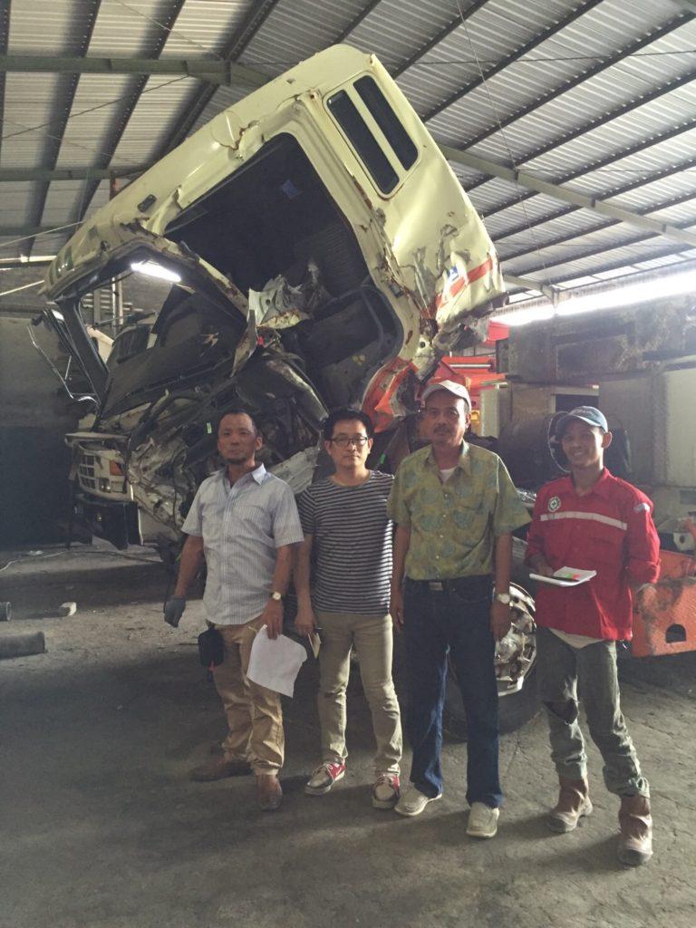 中古建機 輸出 インドネシア